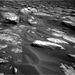 Nasa's Mars rover Curiosity acquired this image using its Right Navigation Camera on Sol 1689, at drive 3404, site number 62