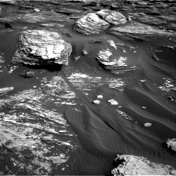 Nasa's Mars rover Curiosity acquired this image using its Right Navigation Camera on Sol 1689, at drive 3416, site number 62