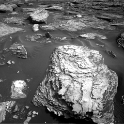 Nasa's Mars rover Curiosity acquired this image using its Right Navigation Camera on Sol 1689, at drive 3434, site number 62