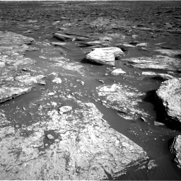Nasa's Mars rover Curiosity acquired this image using its Right Navigation Camera on Sol 1689, at drive 3470, site number 62