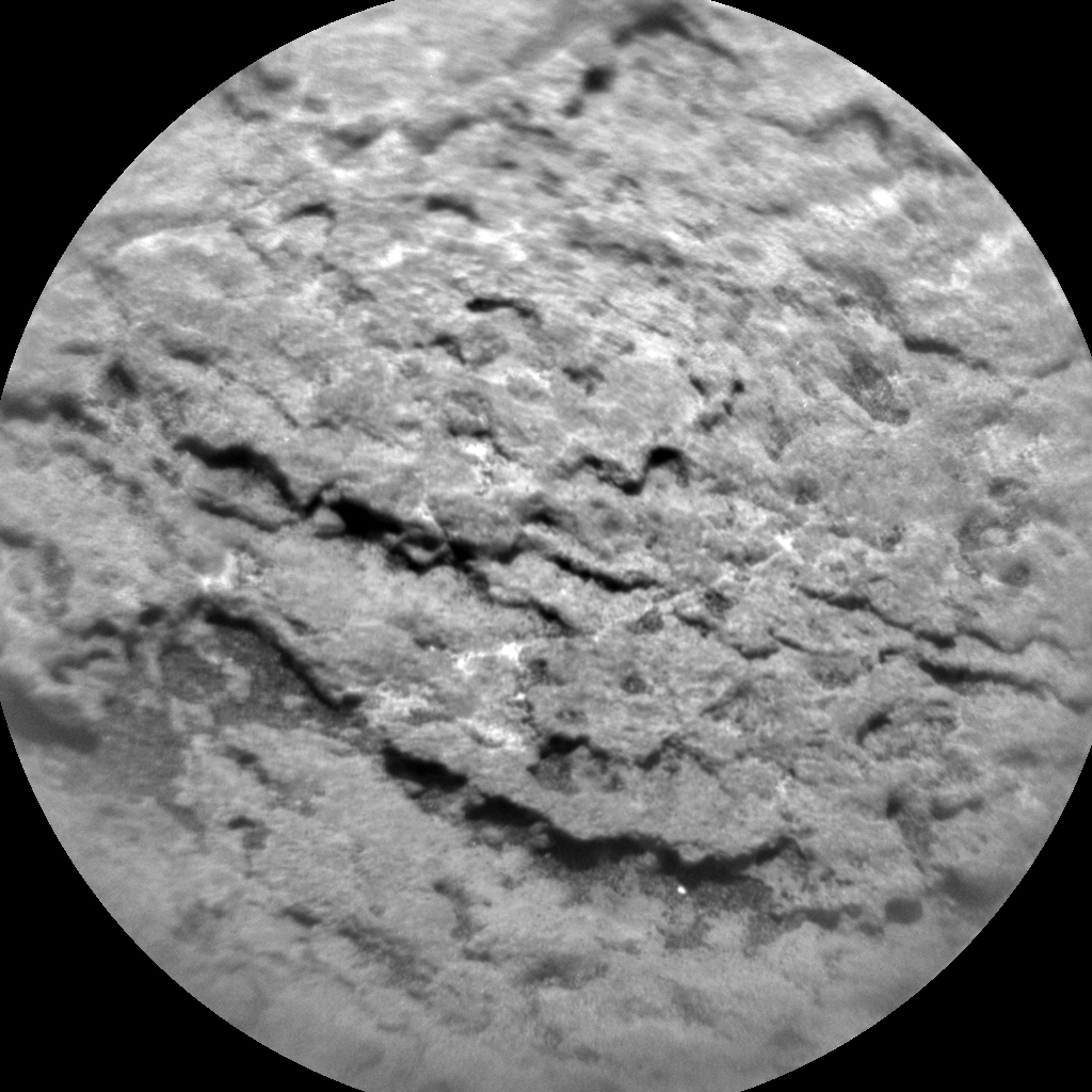 Nasa's Mars rover Curiosity acquired this image using its Chemistry & Camera (ChemCam) on Sol 1689, at drive 3350, site number 62