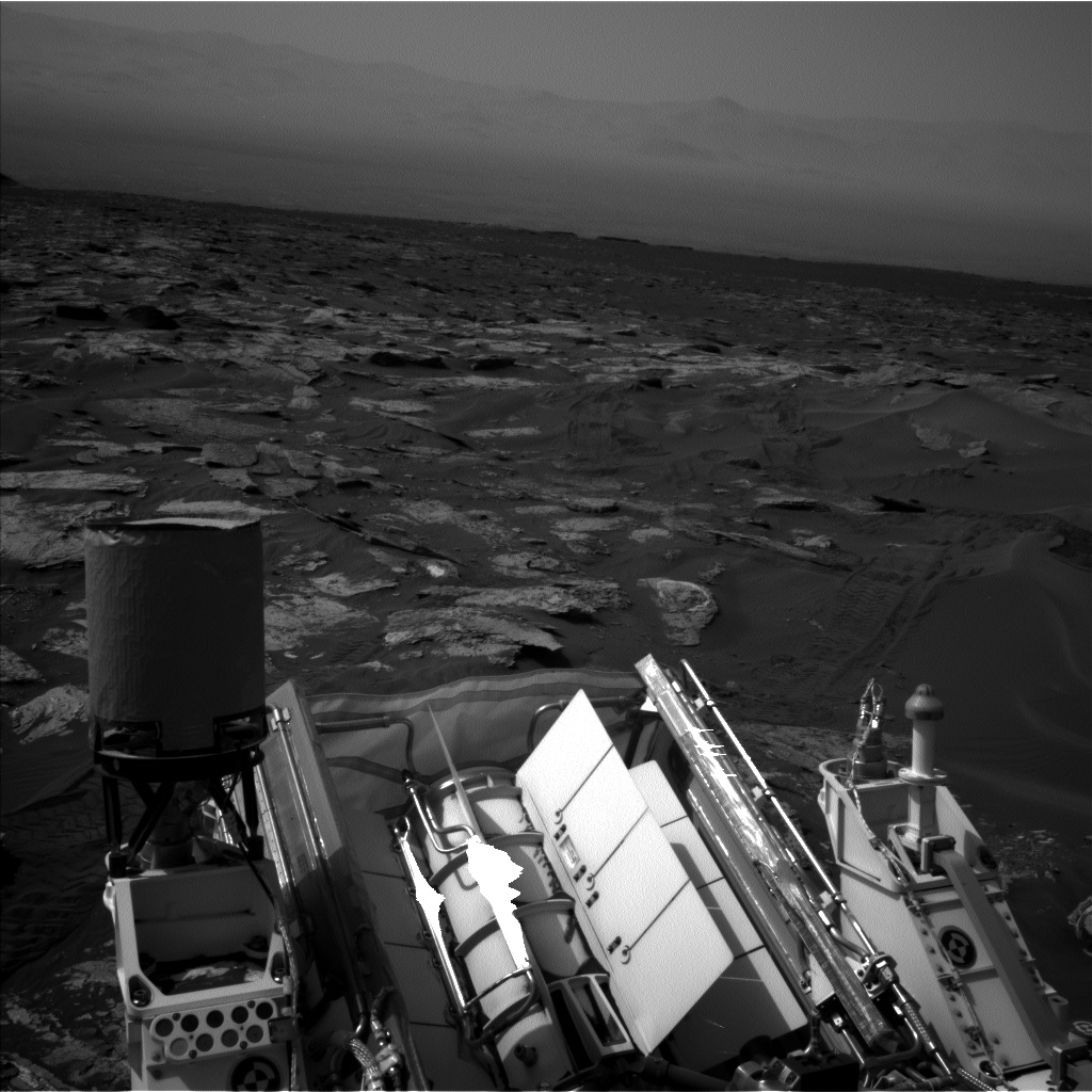 Nasa's Mars rover Curiosity acquired this image using its Left Navigation Camera on Sol 1690, at drive 0, site number 63