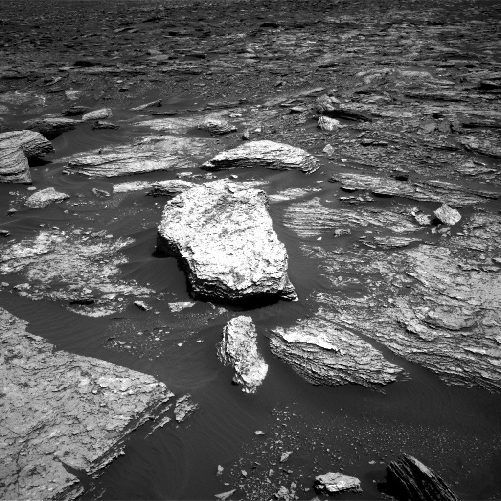 NASA's Mars rover Curiosity acquired this image using its Right Navigation Cameras (Navcams) on Sol 1690