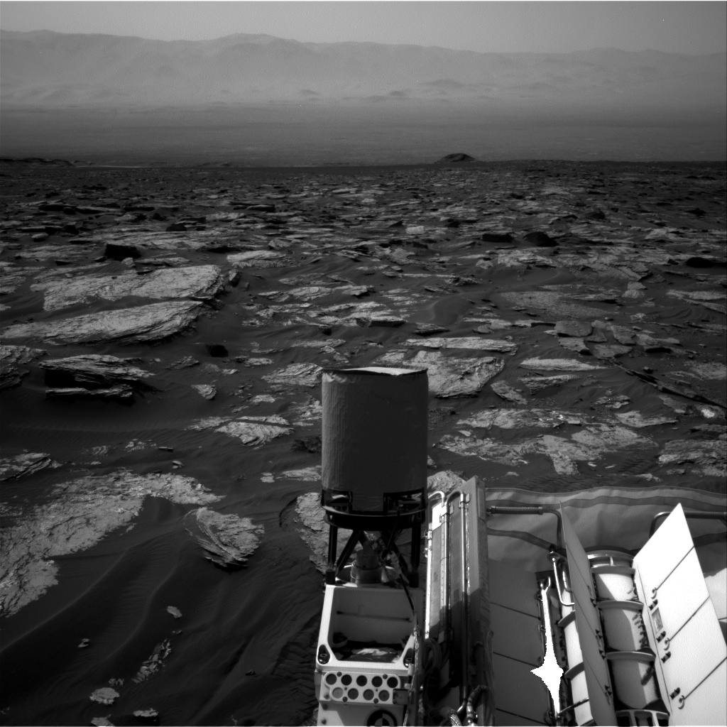 Nasa's Mars rover Curiosity acquired this image using its Right Navigation Camera on Sol 1690, at drive 0, site number 63