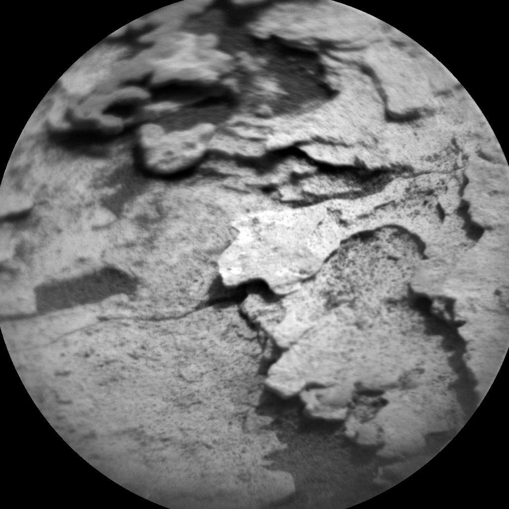 Nasa's Mars rover Curiosity acquired this image using its Chemistry & Camera (ChemCam) on Sol 1690, at drive 0, site number 63