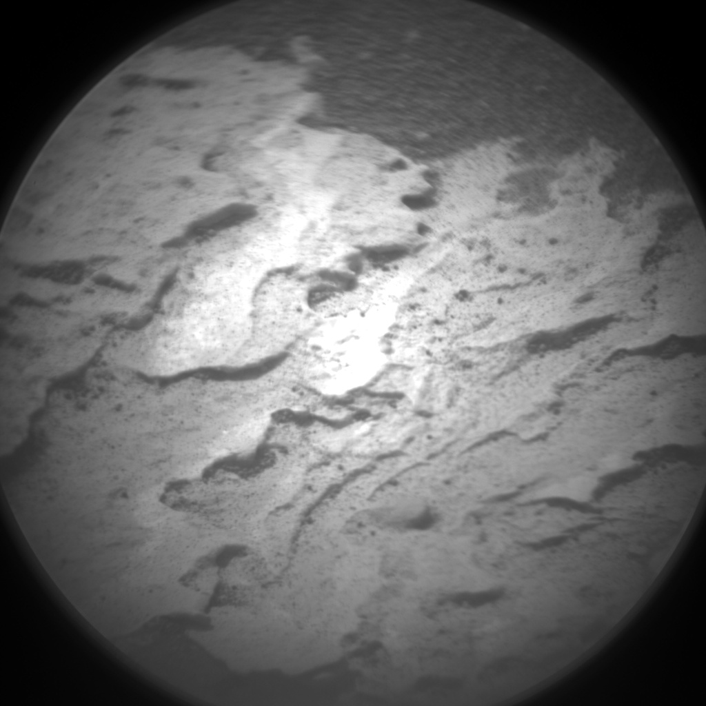 Nasa's Mars rover Curiosity acquired this image using its Chemistry & Camera (ChemCam) on Sol 1691, at drive 100, site number 63