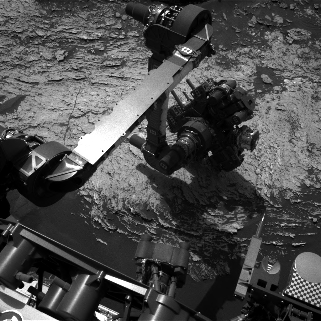 Nasa's Mars rover Curiosity acquired this image using its Left Navigation Camera on Sol 1691, at drive 0, site number 63