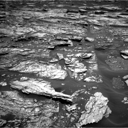Nasa's Mars rover Curiosity acquired this image using its Left Navigation Camera on Sol 1691, at drive 42, site number 63