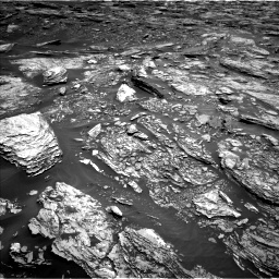 Nasa's Mars rover Curiosity acquired this image using its Left Navigation Camera on Sol 1691, at drive 66, site number 63