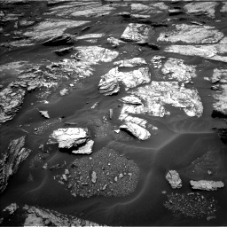 Nasa's Mars rover Curiosity acquired this image using its Left Navigation Camera on Sol 1691, at drive 90, site number 63