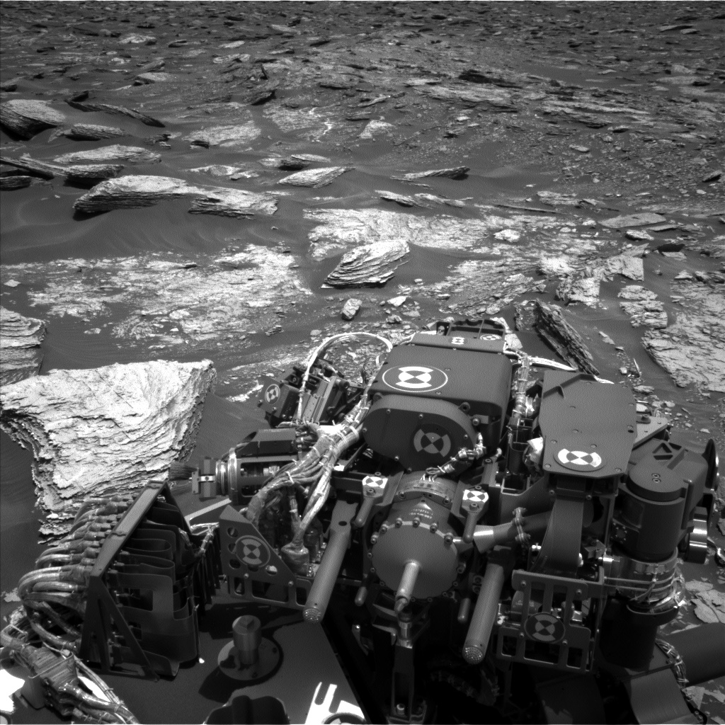 Nasa's Mars rover Curiosity acquired this image using its Left Navigation Camera on Sol 1691, at drive 100, site number 63