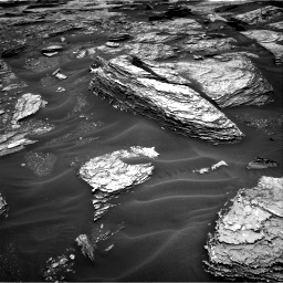 Nasa's Mars rover Curiosity acquired this image using its Right Navigation Camera on Sol 1691, at drive 6, site number 63