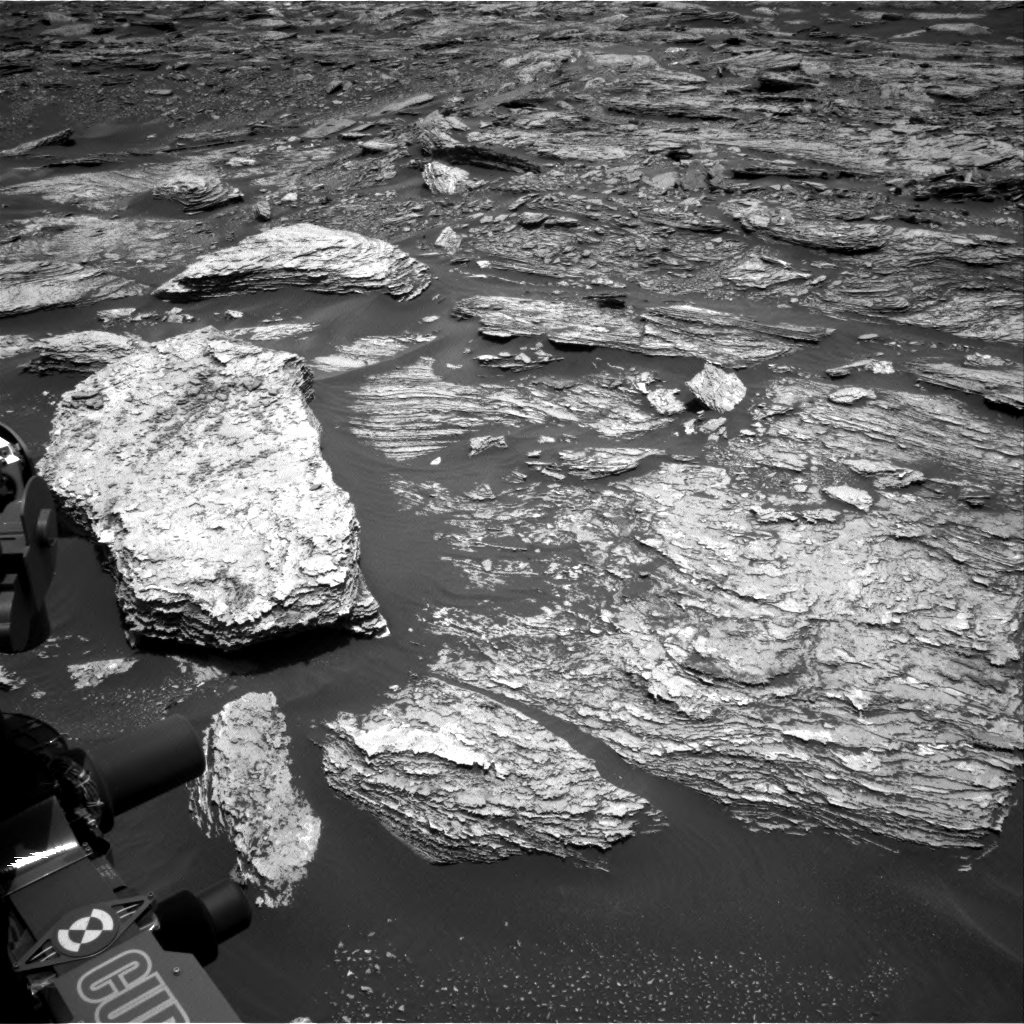 Nasa's Mars rover Curiosity acquired this image using its Right Navigation Camera on Sol 1691, at drive 18, site number 63