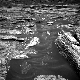 Nasa's Mars rover Curiosity acquired this image using its Right Navigation Camera on Sol 1691, at drive 24, site number 63