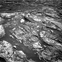 Nasa's Mars rover Curiosity acquired this image using its Right Navigation Camera on Sol 1691, at drive 66, site number 63