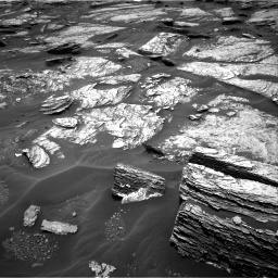 Nasa's Mars rover Curiosity acquired this image using its Right Navigation Camera on Sol 1691, at drive 72, site number 63