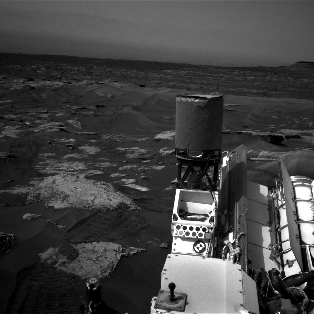 Nasa's Mars rover Curiosity acquired this image using its Right Navigation Camera on Sol 1691, at drive 100, site number 63