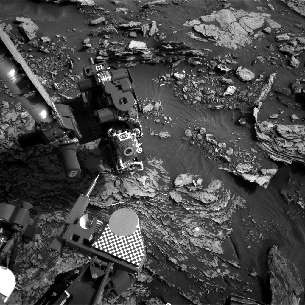 NASA's Mars rover Curiosity acquired this image using its Right Navigation Cameras (Navcams) on Sol 1692