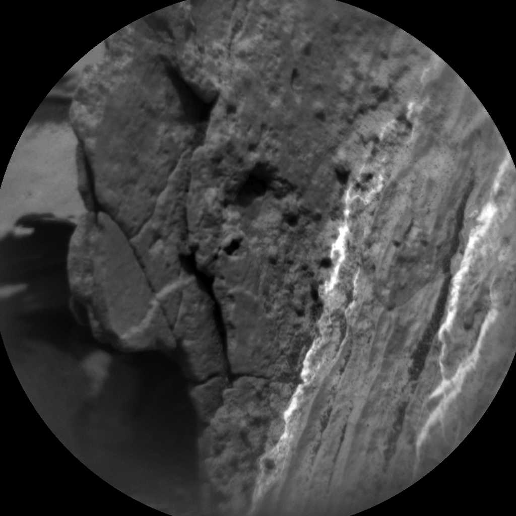 Nasa's Mars rover Curiosity acquired this image using its Chemistry & Camera (ChemCam) on Sol 1692, at drive 100, site number 63