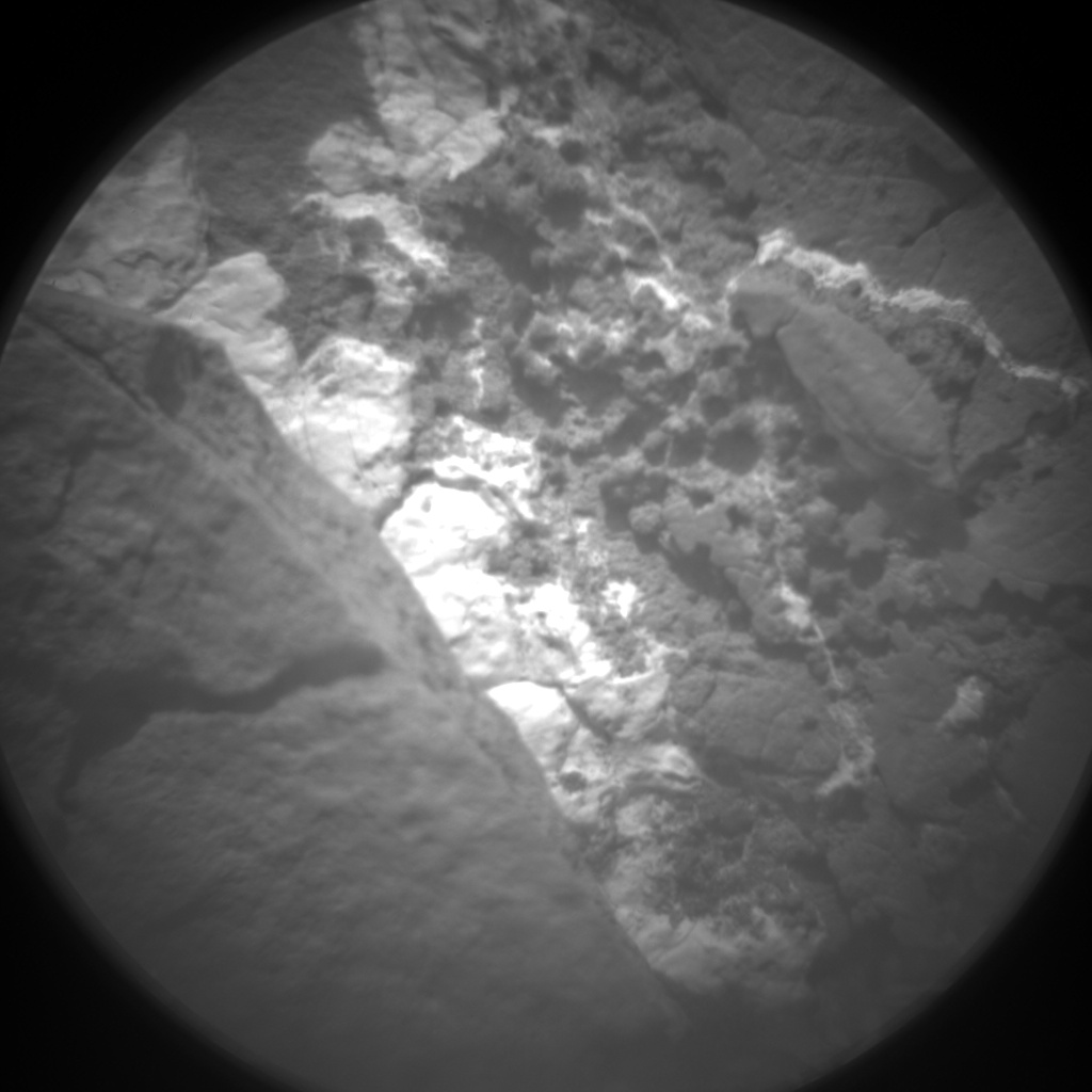 Nasa's Mars rover Curiosity acquired this image using its Chemistry & Camera (ChemCam) on Sol 1693, at drive 100, site number 63