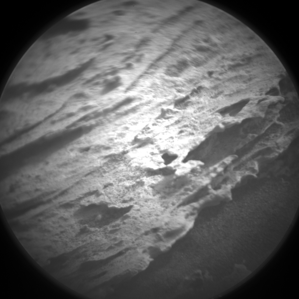 Nasa's Mars rover Curiosity acquired this image using its Chemistry & Camera (ChemCam) on Sol 1693, at drive 346, site number 63