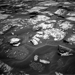 Nasa's Mars rover Curiosity acquired this image using its Left Navigation Camera on Sol 1693, at drive 118, site number 63