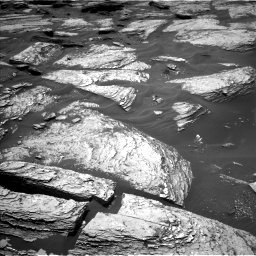 Nasa's Mars rover Curiosity acquired this image using its Left Navigation Camera on Sol 1693, at drive 136, site number 63