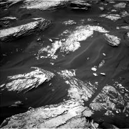 Nasa's Mars rover Curiosity acquired this image using its Left Navigation Camera on Sol 1693, at drive 160, site number 63