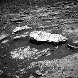 Nasa's Mars rover Curiosity acquired this image using its Left Navigation Camera on Sol 1693, at drive 232, site number 63