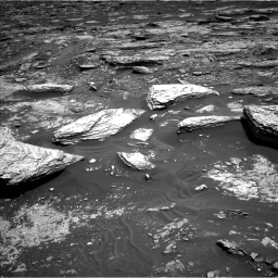 Nasa's Mars rover Curiosity acquired this image using its Left Navigation Camera on Sol 1693, at drive 250, site number 63