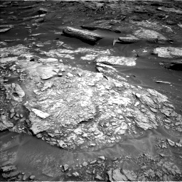 Nasa's Mars rover Curiosity acquired this image using its Left Navigation Camera on Sol 1693, at drive 292, site number 63