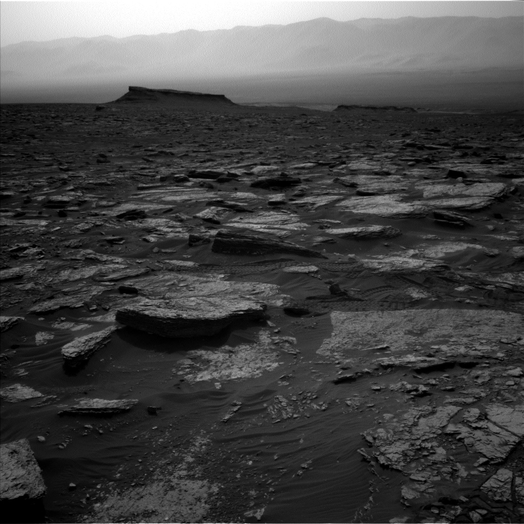 Nasa's Mars rover Curiosity acquired this image using its Left Navigation Camera on Sol 1693, at drive 346, site number 63