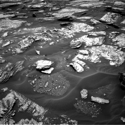 Nasa's Mars rover Curiosity acquired this image using its Right Navigation Camera on Sol 1693, at drive 112, site number 63