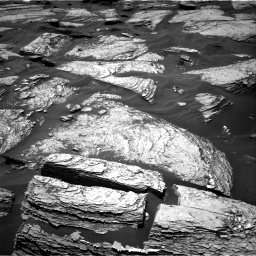 Nasa's Mars rover Curiosity acquired this image using its Right Navigation Camera on Sol 1693, at drive 130, site number 63