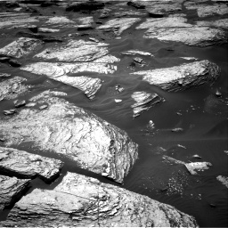 Nasa's Mars rover Curiosity acquired this image using its Right Navigation Camera on Sol 1693, at drive 136, site number 63