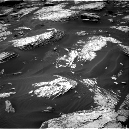 Nasa's Mars rover Curiosity acquired this image using its Right Navigation Camera on Sol 1693, at drive 154, site number 63