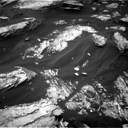 Nasa's Mars rover Curiosity acquired this image using its Right Navigation Camera on Sol 1693, at drive 160, site number 63