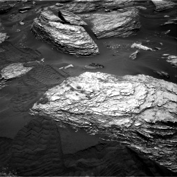 Nasa's Mars rover Curiosity acquired this image using its Right Navigation Camera on Sol 1693, at drive 190, site number 63