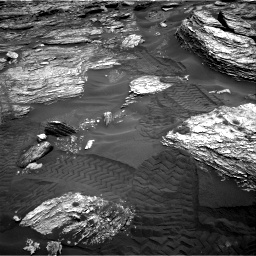 Nasa's Mars rover Curiosity acquired this image using its Right Navigation Camera on Sol 1693, at drive 202, site number 63