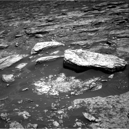 Nasa's Mars rover Curiosity acquired this image using its Right Navigation Camera on Sol 1693, at drive 238, site number 63