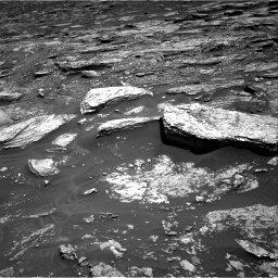 Nasa's Mars rover Curiosity acquired this image using its Right Navigation Camera on Sol 1693, at drive 244, site number 63