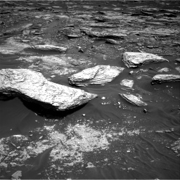 Nasa's Mars rover Curiosity acquired this image using its Right Navigation Camera on Sol 1693, at drive 262, site number 63