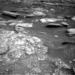 Nasa's Mars rover Curiosity acquired this image using its Right Navigation Camera on Sol 1693, at drive 286, site number 63