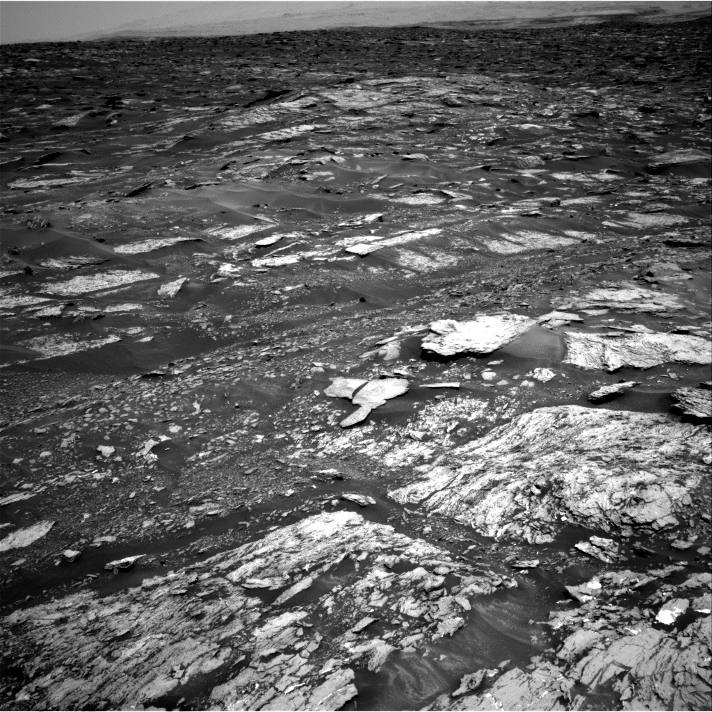 Nasa's Mars rover Curiosity acquired this image using its Right Navigation Camera on Sol 1693, at drive 298, site number 63