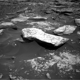 Nasa's Mars rover Curiosity acquired this image using its Right Navigation Camera on Sol 1693, at drive 322, site number 63