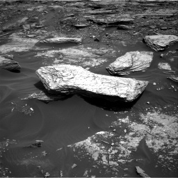Nasa's Mars rover Curiosity acquired this image using its Right Navigation Camera on Sol 1693, at drive 334, site number 63