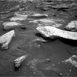Nasa's Mars rover Curiosity acquired this image using its Right Navigation Camera on Sol 1693, at drive 340, site number 63