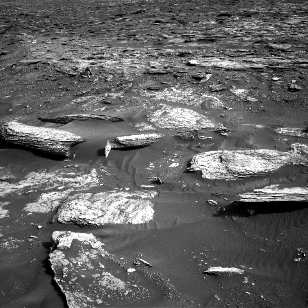 Nasa's Mars rover Curiosity acquired this image using its Right Navigation Camera on Sol 1693, at drive 346, site number 63
