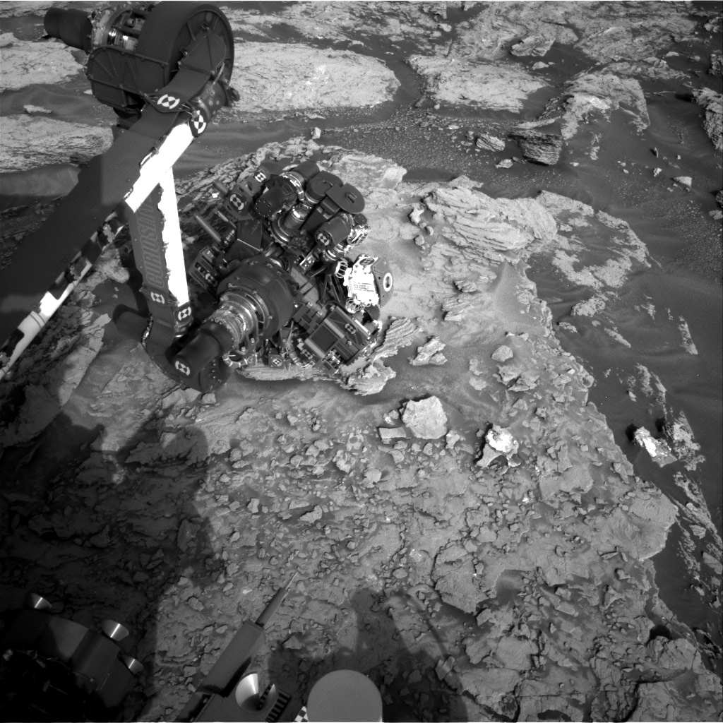 Nasa's Mars rover Curiosity acquired this image using its Right Navigation Camera on Sol 1695, at drive 346, site number 63