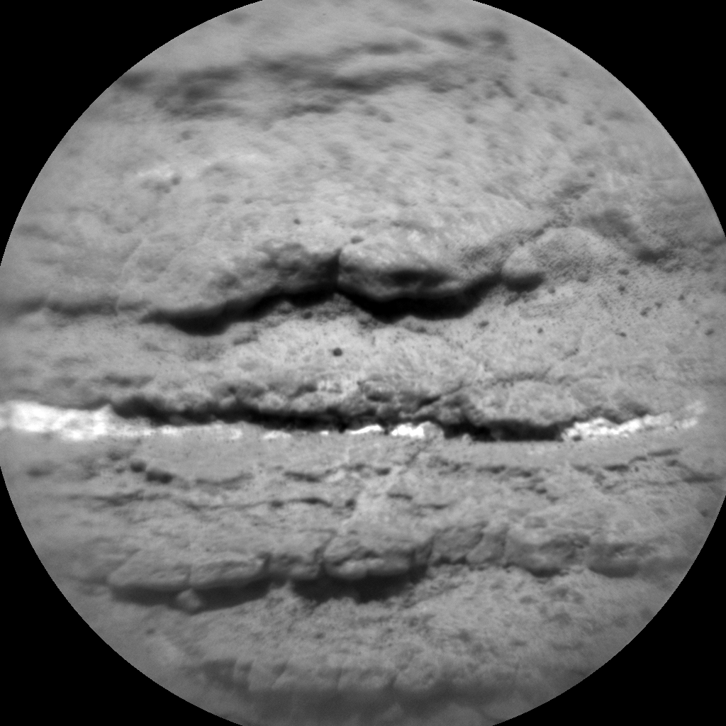 Nasa's Mars rover Curiosity acquired this image using its Chemistry & Camera (ChemCam) on Sol 1695, at drive 346, site number 63